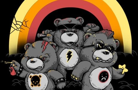 Dont Care Bears Tee Design by Alex Solis