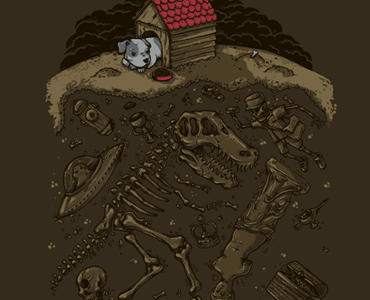 My Favorite Things Tee Design by Alex Solis