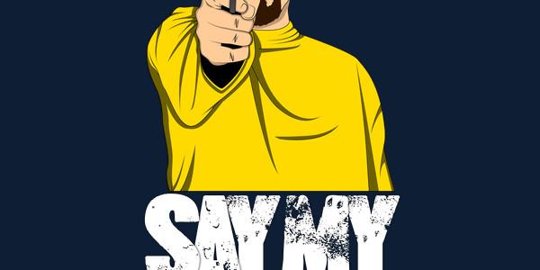 Say My Name Tee Design by Berserk7.