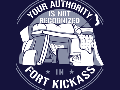 Fort Kickass Tee Design.