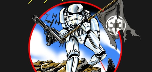 GALACTIC EMPIRE THE TROOPER Tee Design by Mark Welser