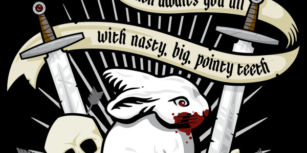 Rabbit of Caerbannog Tee Design by Pufahl.