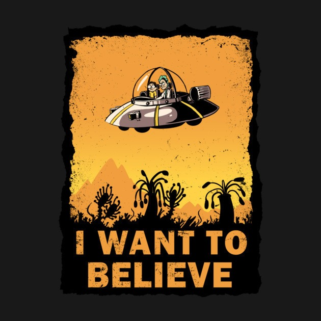 I Want To Believe 100 Years Tee Design Review Tee Fetch