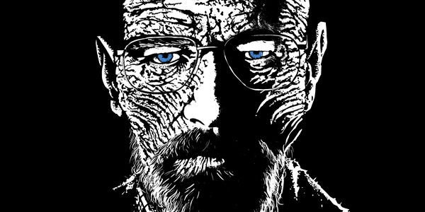 Mr White Walker Tee Design by Spicy Monocle