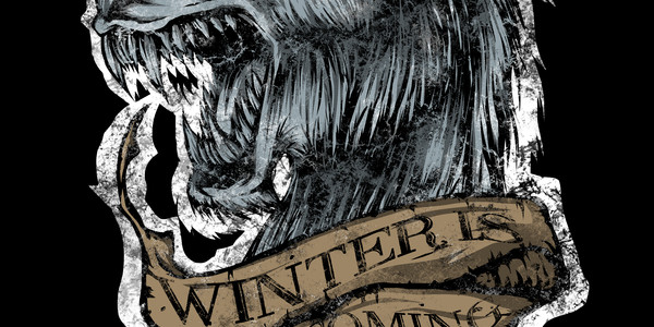 Winter Is Coming Tee Design by Firebeard.