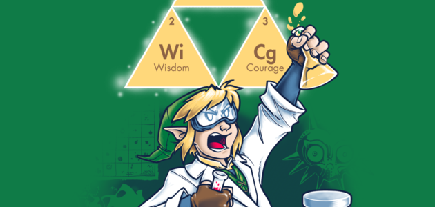 Hyrulean Science Tee Design by Obvian.