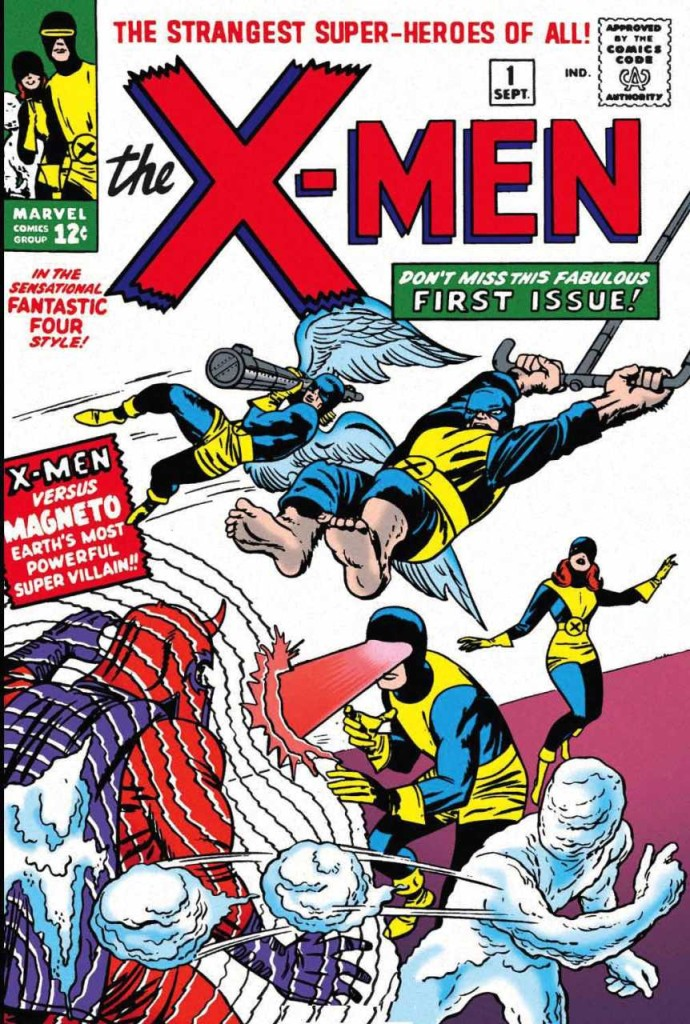 Original The X-Men Comic Book Cover 1st Issue