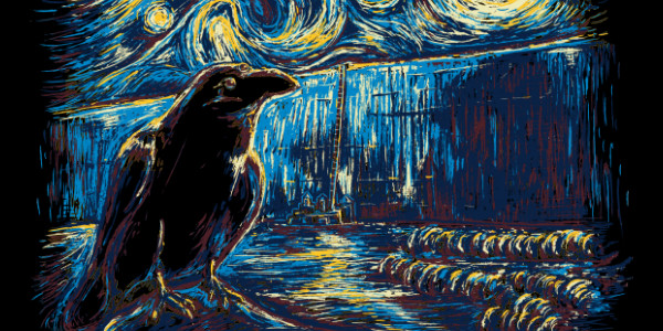 Starry Night's Watch Tee Design By Twenty27.
