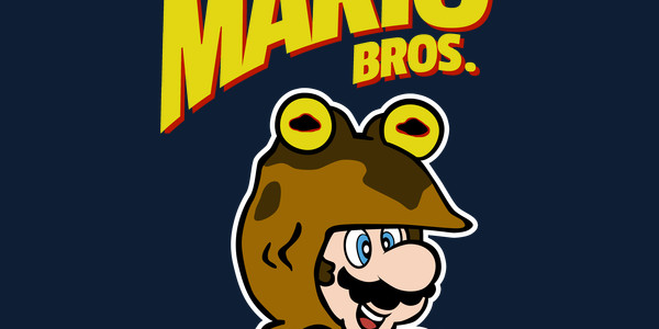 Hypno Mario Bros. Tee Design by DutyFreak