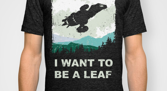 I Want To Be A Leaf Tee Design by Girardin27.