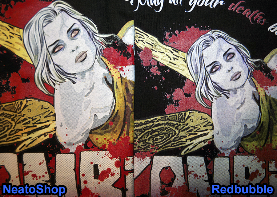 NeatoShop Vs Redbubble Side by Side Print Comparison