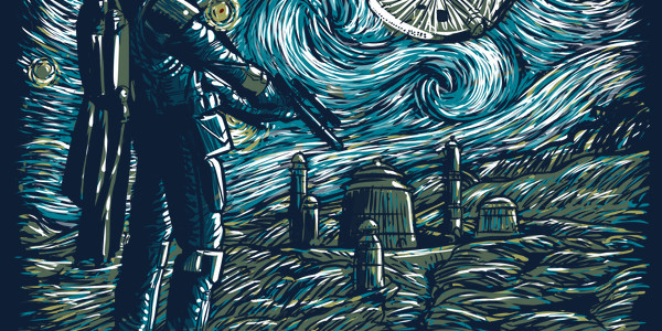 Starry Wars Tee Design by ddjvigo.