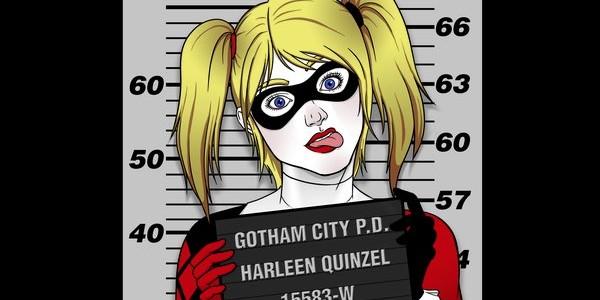 Bad Girls Go To Arkham Tee Design by UrsulaLopez.