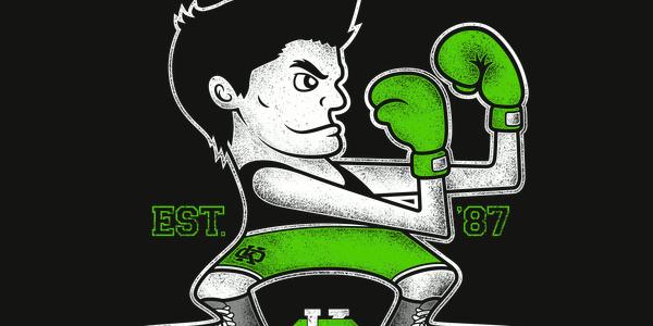 Lil Mac's Gym Tee Design by Jango Snow.