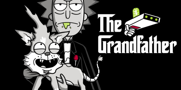 The Grandfather 2 Tee Design by Raffiti.
