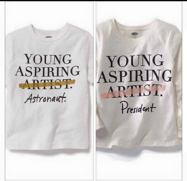 Old Navy Controversial Tees.