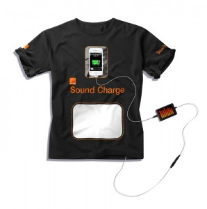 Strangest Tees: Orange Sound Charge Tee