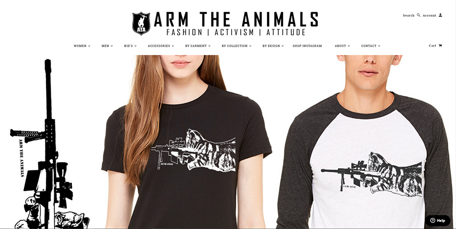Arm The Animals Tee Brand