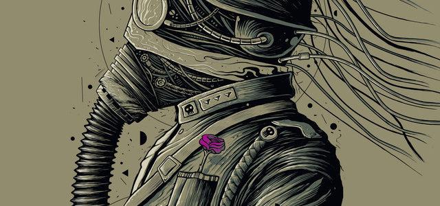 Dark Officer Tee Design by roncabardz.