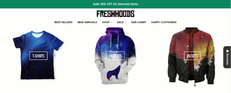 Fresh Hoods Screenshot