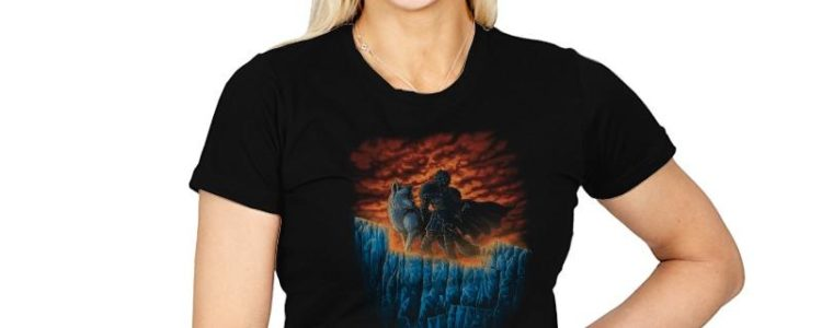 The WATCHERS OF THE WALL - POP IMPRESSIONISM T-shirt design by TonyCenteno.