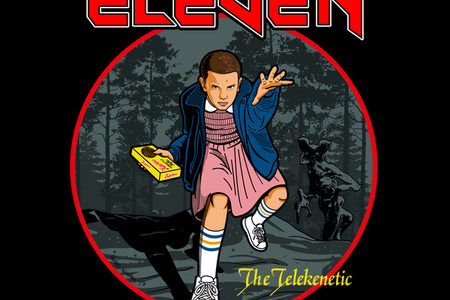 Eleven the Telekinetic T-Shirt Design by Boggs Nicolas.