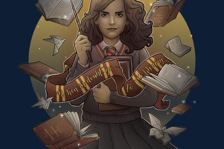 Magic of Books Hoodie Design by Saqman