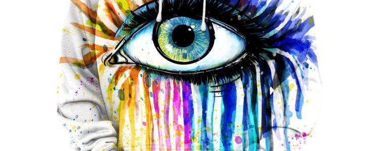 Watercolor Eye Hoodie