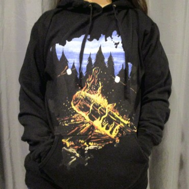 e95cd26e6 Camp Fire Hoodie Design Worn Design By Humans Print Quality Review