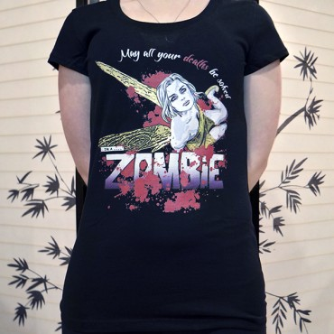 79e3fb19 May All Your Deaths Be Solved Tee Design Worn Redbubble Print Quality Review  · Shirt Design