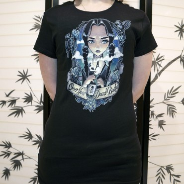 3fb4bc950 Over Your Dead Body Tee Design Worn TeeFury Print Quality Review